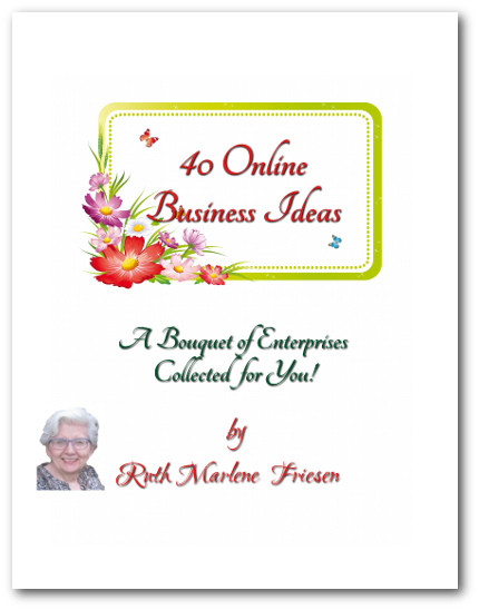 40 Online Business Ideas (cover)
